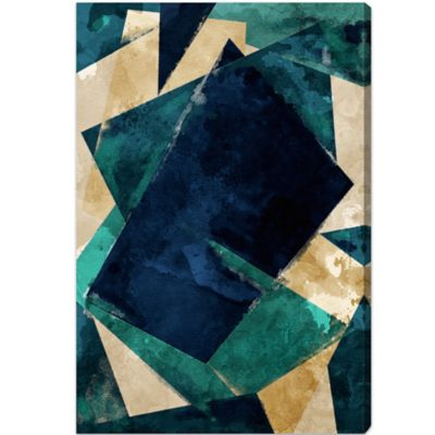 Oliver Gal Artist Co. Abstracta Dos Canvas Wall Art