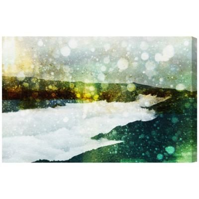 Oliver Gal The Path Canvas Wall Art