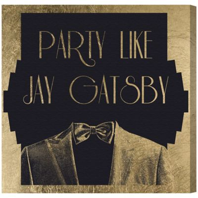 Oliver Gal Artist Co. Party Like Canvas Wall Art