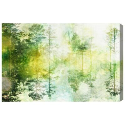 The Oliver Gal Artist Co. Fairy Forest Canvas Wall Art