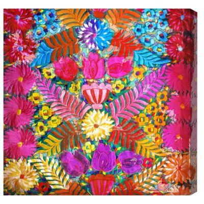 The Oliver Gal Artist Co. Prado Floral Canvas Wall Art