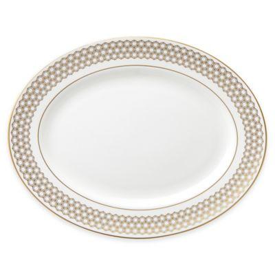 Lenox® Prismatic Gold 13-Inch Oval Platter