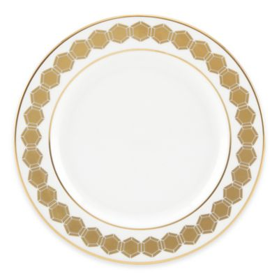 White Gold Butter Plate