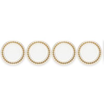 Gold Tidbit Plates