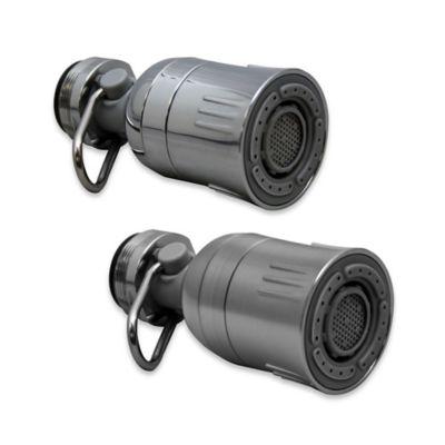 Brushed Nickel Faucet Aerator