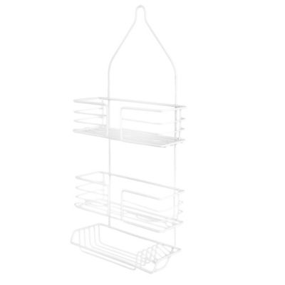 2-Tier Premier XL Shower Caddy in White