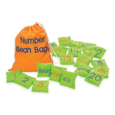 Educational Insights® Number Bean Bags (Set of 20)