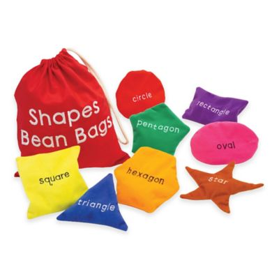 Educational Insights® Shapes Bean Bags (Set of 8)
