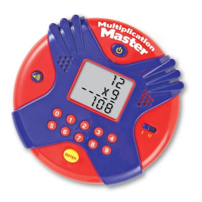 Learning Resources® Multiplication Master™ Electronic Flash Card