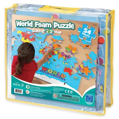 Educational Insights® World Foam Map Puzzle