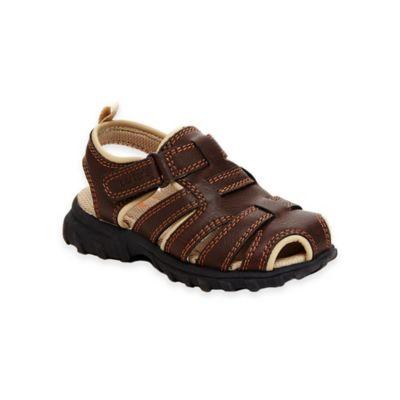 carter's® Sandal 6 Warner Fisherman Sandal in Brown