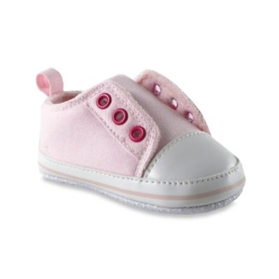 BabyVision® Luvable Friends® Size 6-12M Laceless Sneaker in Pink