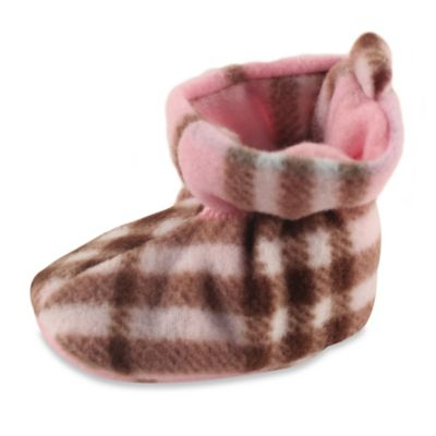 Pink Plaid Girls' Shoes