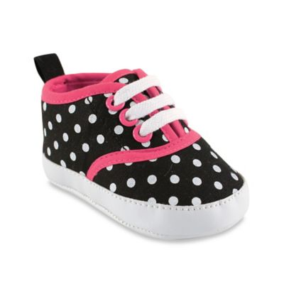 Black Dot Girls' Shoes