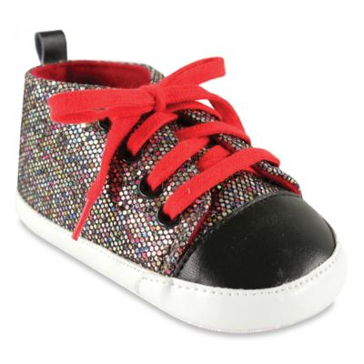 BabyVision® Luvable Friends® Size 6-12M Sparkly Sneaker in Multicolor