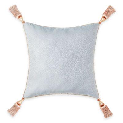 Waterford® Linens Valerie Reversible European Pillow Sham in Sea Blue