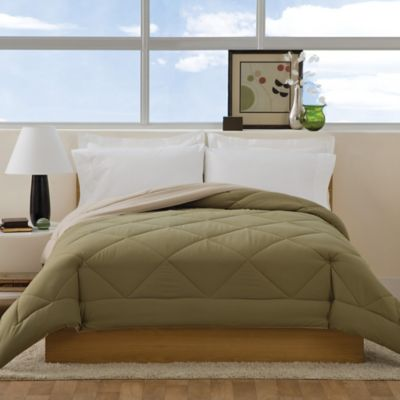 Olive Green and Brown Bedding