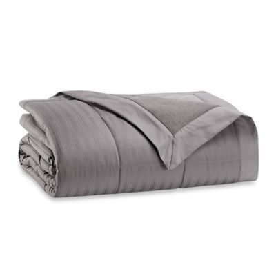Warm Zone™ Microfiber Down Alternative Twin Comforter in Grey