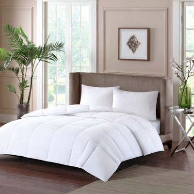 Sleep Philosophy Fit Nest Down Alternative King Comforter in White