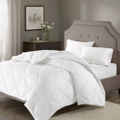 Madison Park Signature 1000-Thread-Count Down Alternative King/California King Comforter in White