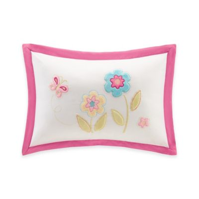 Mi Zone Kids Spring Bloom Applique Throw Pillow