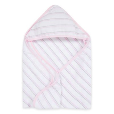 Pink Multi Hooded Towel
