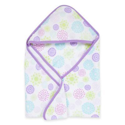 MiracleWare Colorful Bursts Muslin Hooded Towel
