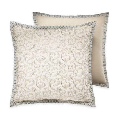 Croscill® Marietta European Pillow Sham in Ivory
