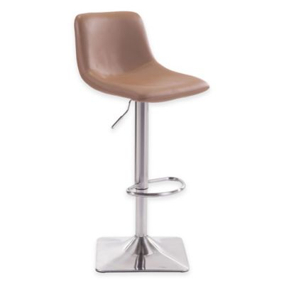 Zuo® Cougar Bar Chair in White
