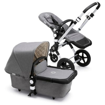 Bugaboo Cameleon3 Classic Plus Collection Complete Stroller in Grey Melange
