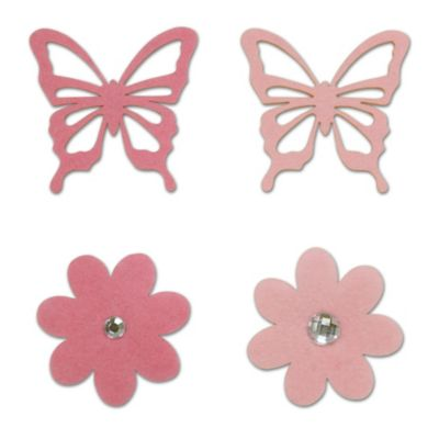 Pink Embellishment Set