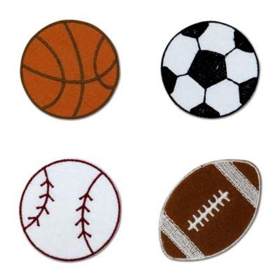 Little Haven 4-Piece Sports Letter Embellishment Set