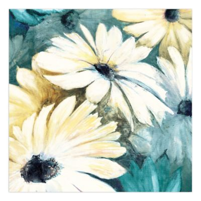 Pied Piper Creative Daisy Bouquet 16-Inch x 16-Inch Canvas Wall Art