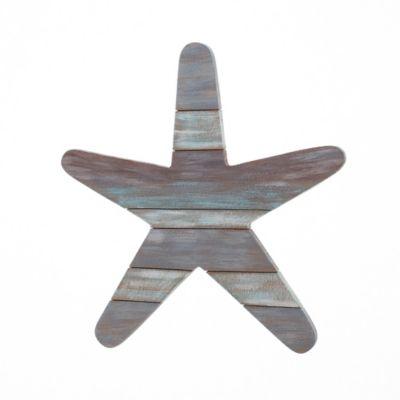 Starfish Slatwood Panel Wall Art