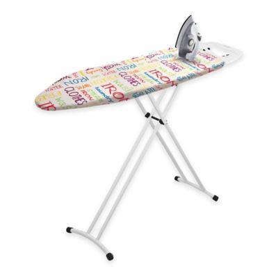 Bonita Neu Metallo Ironing Board in Red