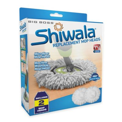 Big Boss™ Shiwala® Replacement Mop Heads (Set of 2)