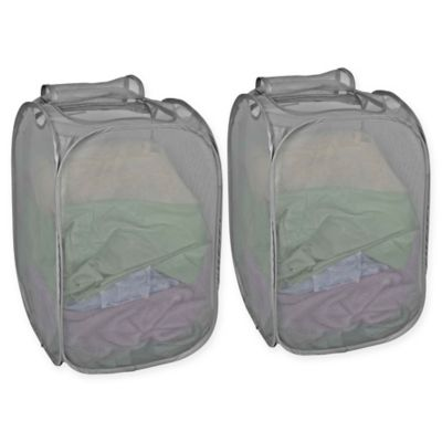 Zippered Laundry Hampers