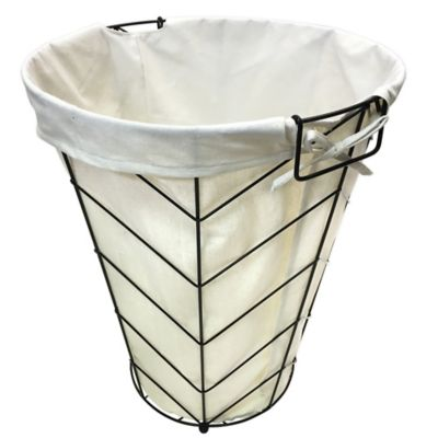 Herringbone Wire Hamper