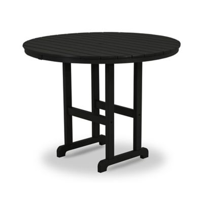 POLYWOOD® La Casa Counter Height Dining Table in Black