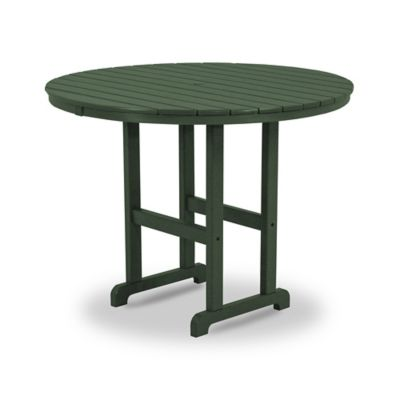 POLYWOOD® La Casa Counter Height Dining Table in Green