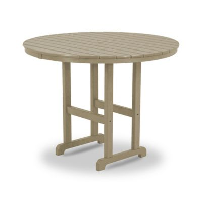 POLYWOOD® La Casa Counter Height Dining Table in Sand
