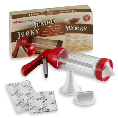 Jumbo Jerky Works Jerky Gun and Seasoning Kit