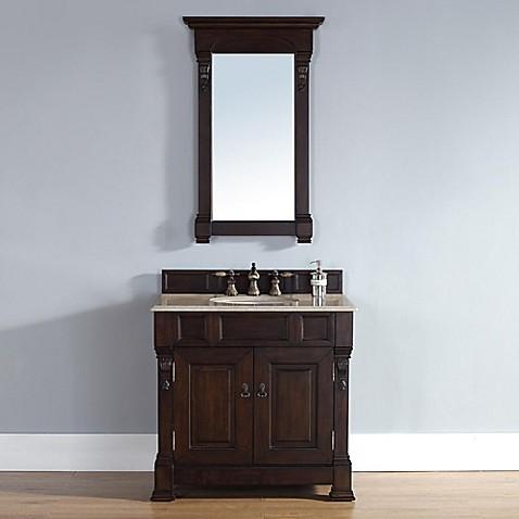 Buy james martin furniture brookfield single vanity for Bathroom vanity stores virginia beach