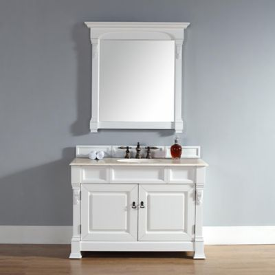 James Martin Furniture Brookfield Single Vanity without Countertop in Cottage White
