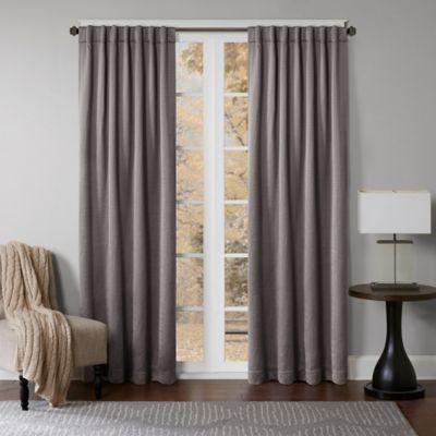 Graphite Curtain Panels
