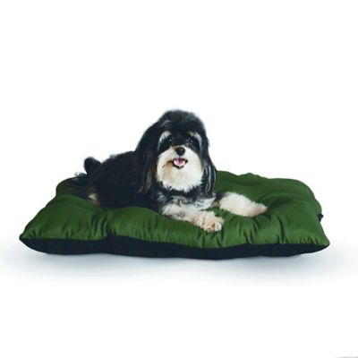Small Thermo-Cushion™ Pet Bed in Sage