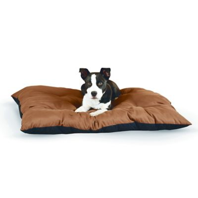Large Thermo-Cushion™ Pet Bed in Chocolate