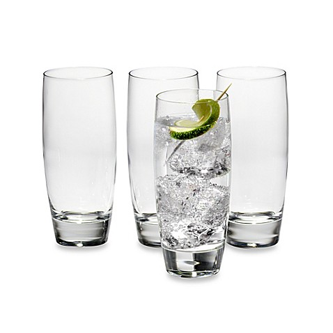Luigi Bormioli Michelangelo Beverage Glasses (Set of 4)