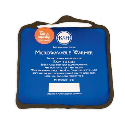 Microwavable Pet Bed Warmer™ in Blue