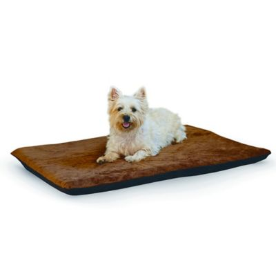 Ortho Thermo Large Pet Bed in Chocolate